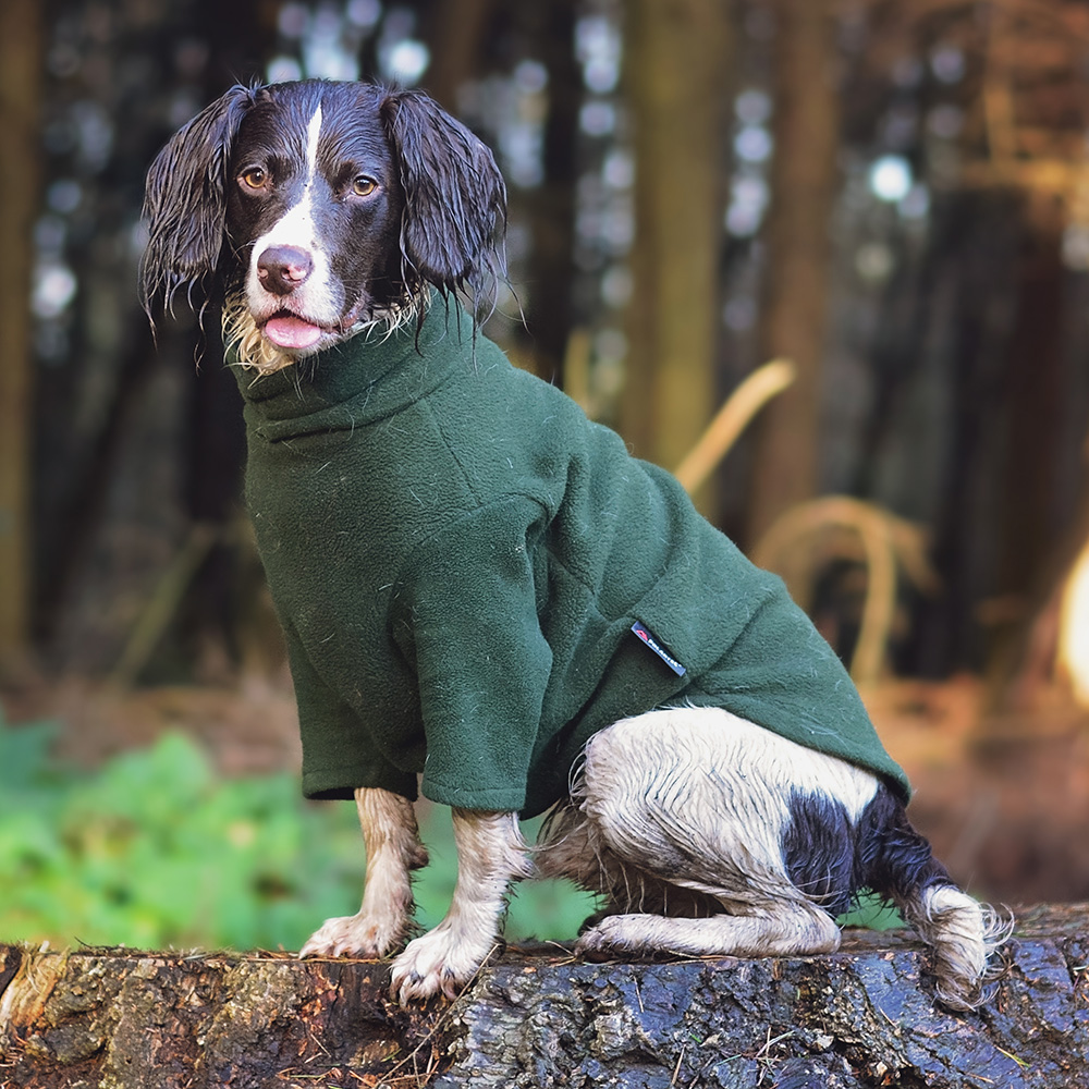 Polartec Fleece Dog Jumper Rainproof Breathable Warm And